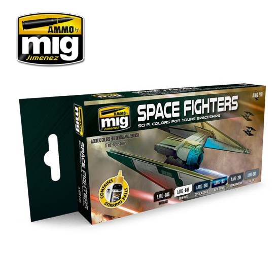 Space Fighters Sci-Fi Colours