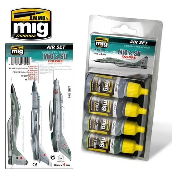 MiG & SU Fighter Greys