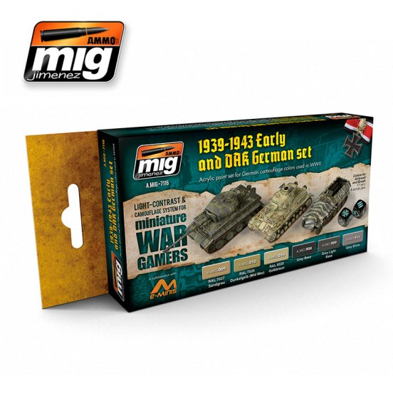 Wargame Early and DAK German Set