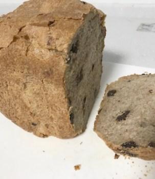 イーストで全粒粉100%パン