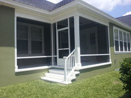 orlando area screened porch patio and