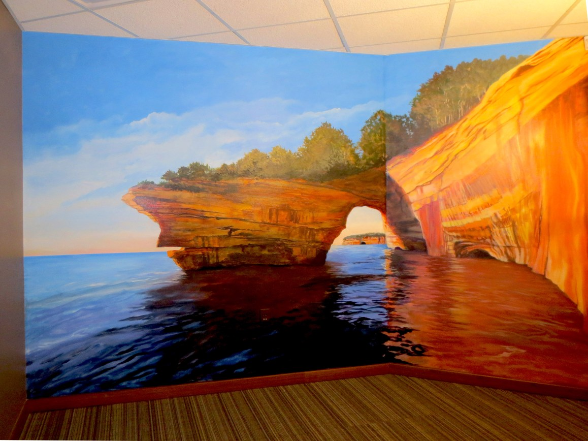 Google Pictured Rocks painting