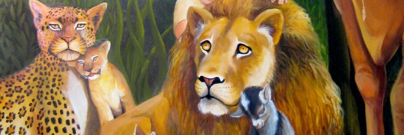 peaceable kingdom mural hero
