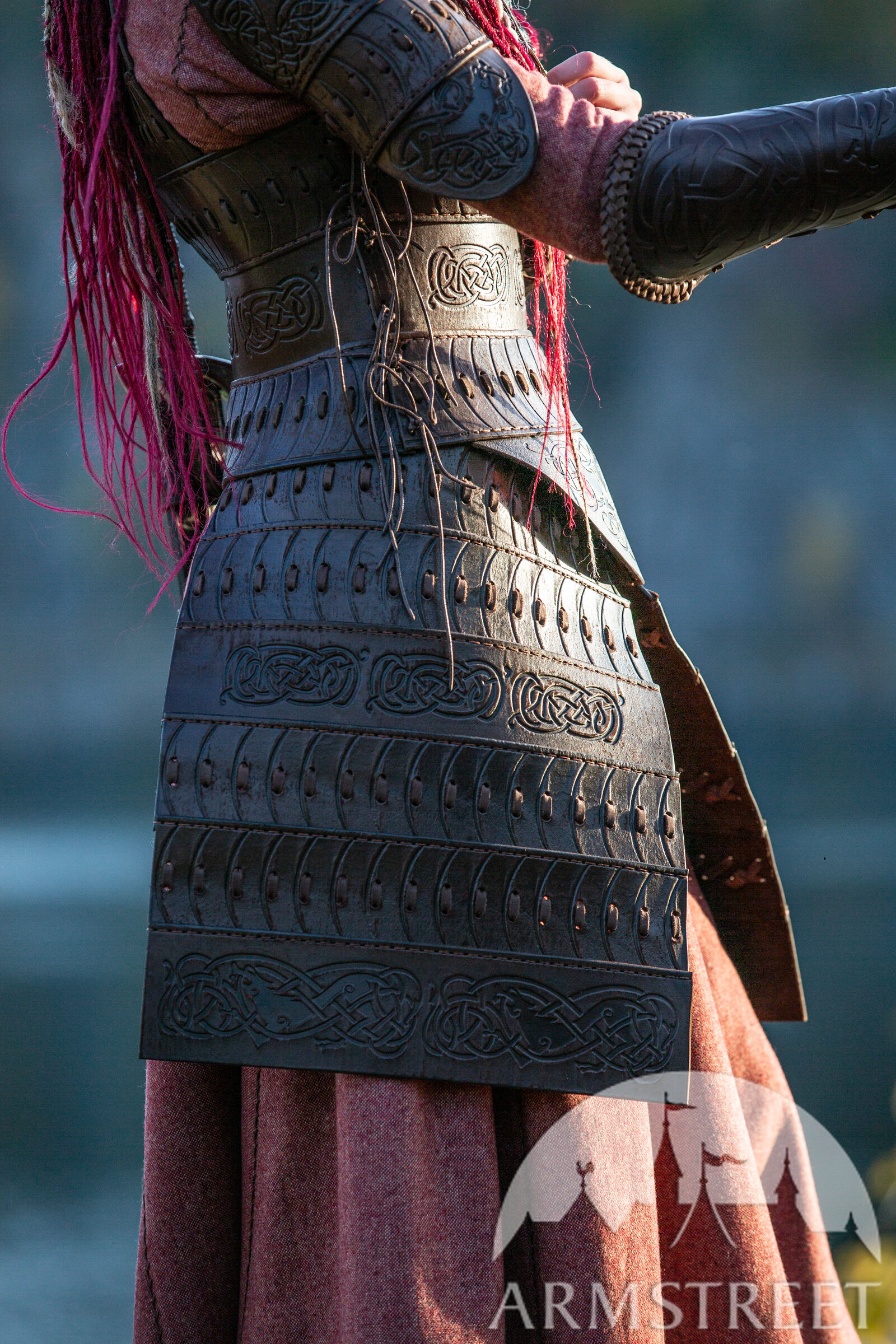 Vikings Leather Armour Shieldmaiden Available In