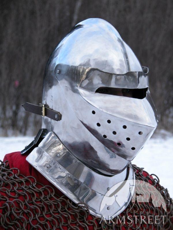 Medieval Armet Helm Helmet Armor For Sale By Medieval
