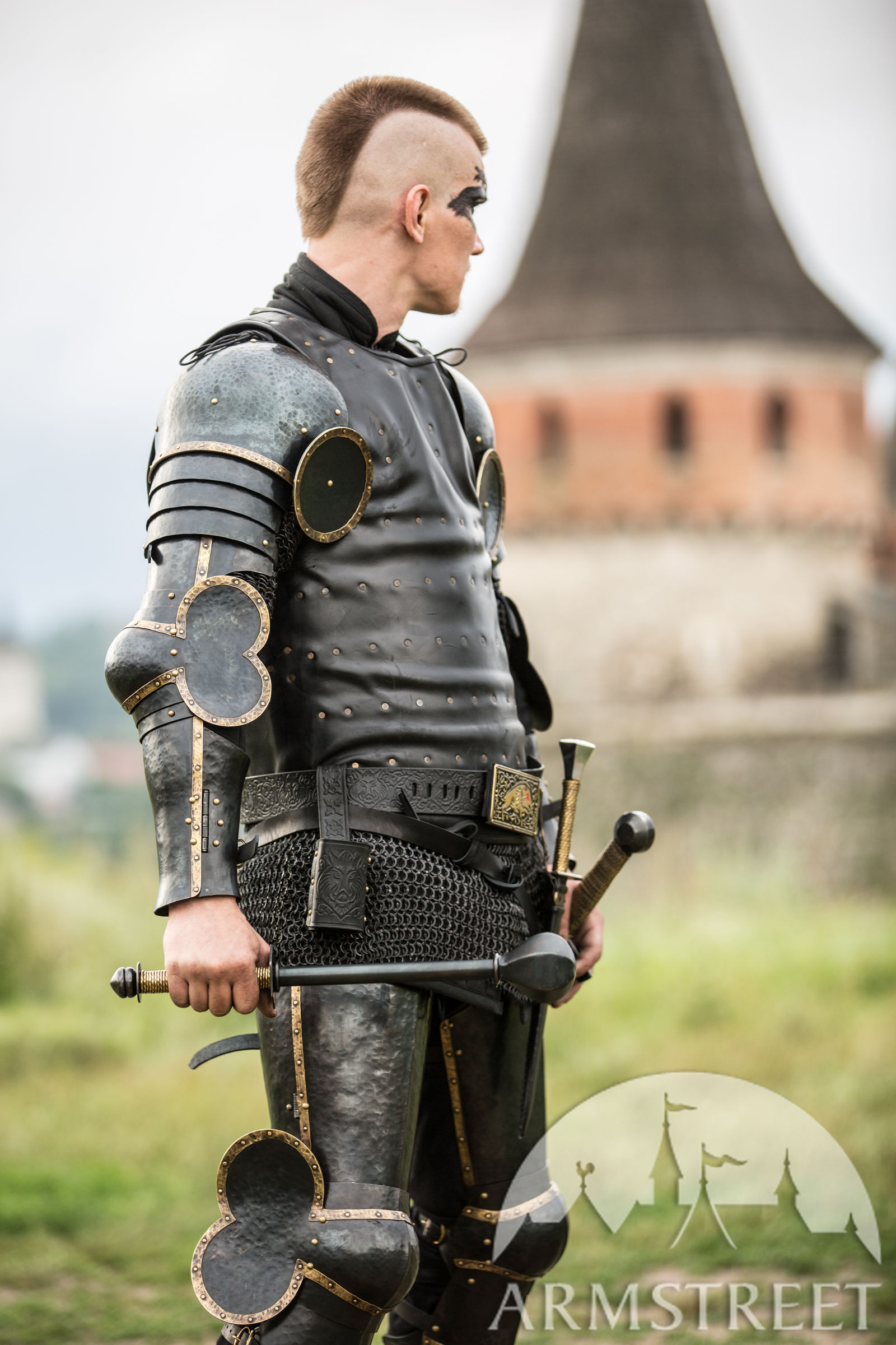 Visby Style Coat Of Plates The Wayward Knight For Sale