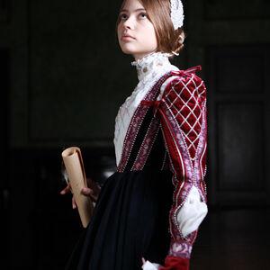 Renaissance Clothing Dress Natural Velvet Costume For