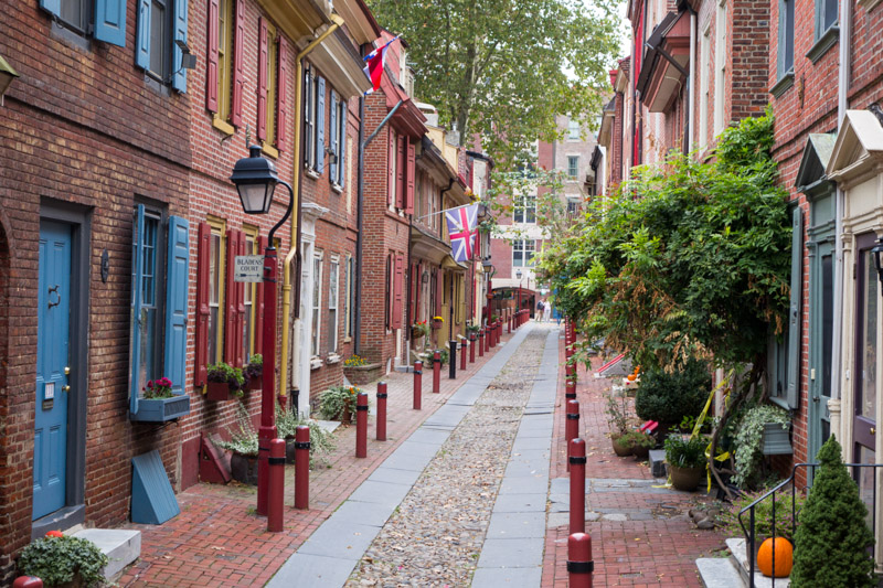 Oldest Street-Elfreths-Alley-Philadelphia