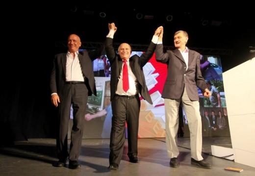 Lifschitz en su lanzamiento: «Mi gobierno será el más frentista de los tres».