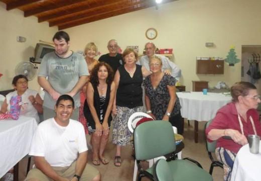 Visita al Hogar de Ancianos (Rueda Interna – Rotary Club Armstrong).