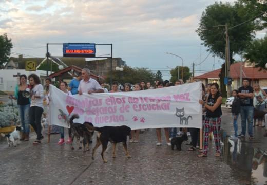 Exitosa caminata contra el envenenamiento de mascotas en Armstrong.