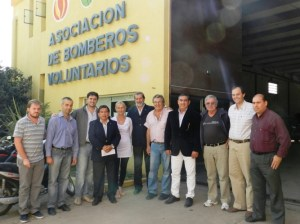 Aportes Provinciales a Bomberos de Cañada y Villa Eloísa