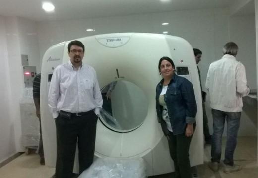 El Hospital San José recibió un tomógrafo de última generación. Por El Informe.