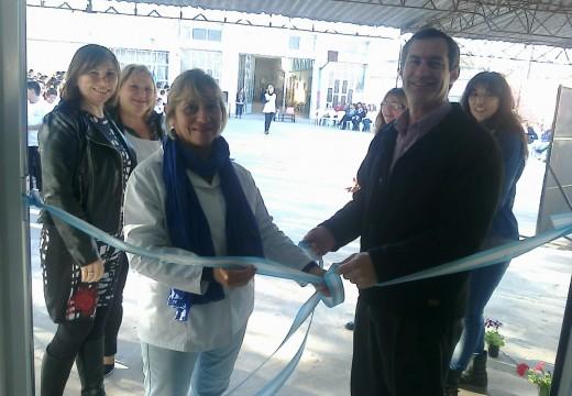 La Escuela N. 600 Manuel Belgrano inauguro su nuevo comedor.
