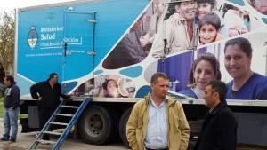 diego mansilla camión sanitario nacional