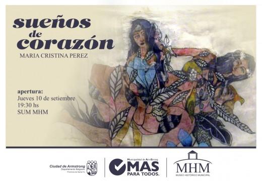 """""""Sueños de Corazón"""" en el Museo Histórico Municipal."""