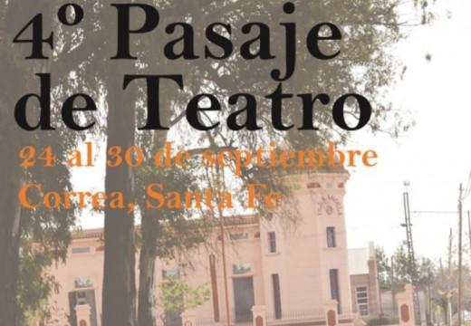 4° Pasaje de Teatro Correa 2015.