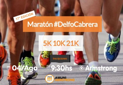 Cuenta regresiva. 17° Maratón Homenaje a Delfo Cabrera.