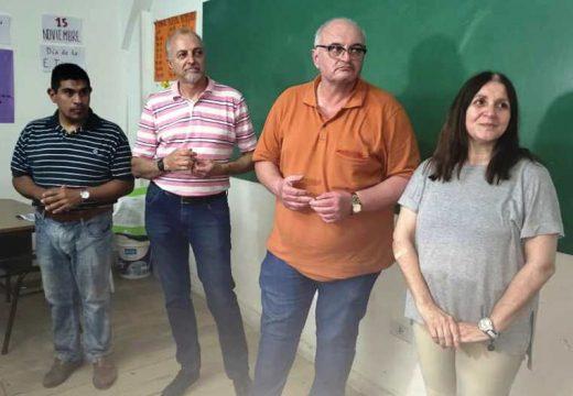"""Rotary Club presento un proyecto denominado """"TECNICAMENTE"""" para la Escuela Fray Luis Beltran."""