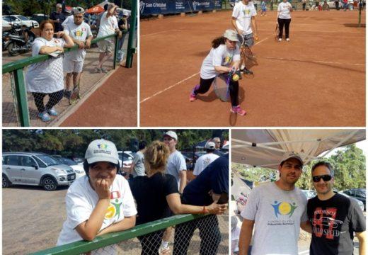 Roldán: la Escuela de Las Rosas participó del 10° Encuentro de Tenis adaptado