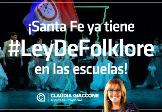 Es ley provincial la Enseñanza del Folklore en las Escuelas santafesinas