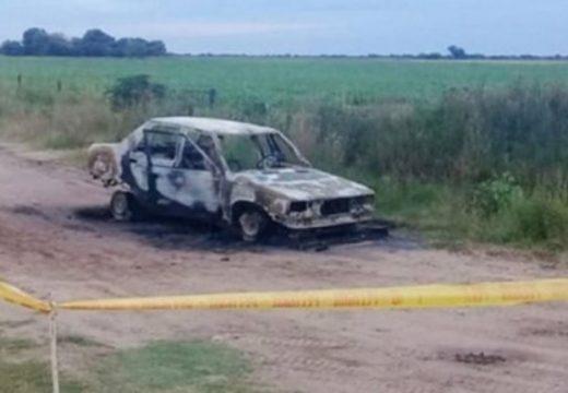 Una mujer murió calcinada en un auto y sospechan de su pareja