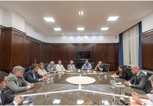 Guillermo Merediz recibió a representantes del sector PyME