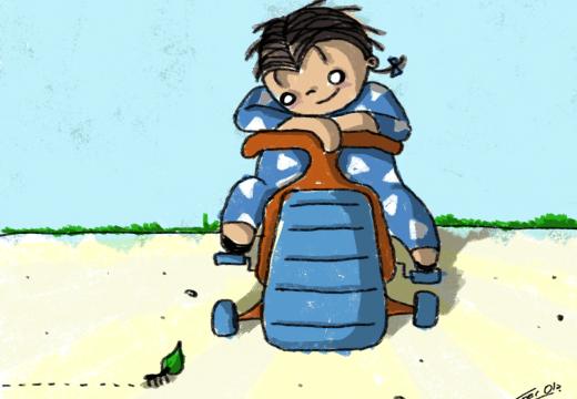 De repente René: «Hormiga» – Por Fer Ola
