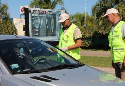 Cañada de Gomez. Municipio y Policía realizan controles en los accesos a la ciudad.