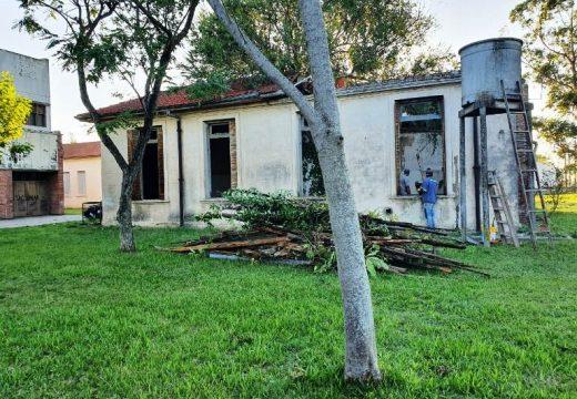 Cañada de Gomez. Iniciaron obras en hospital con aportes del municipio.