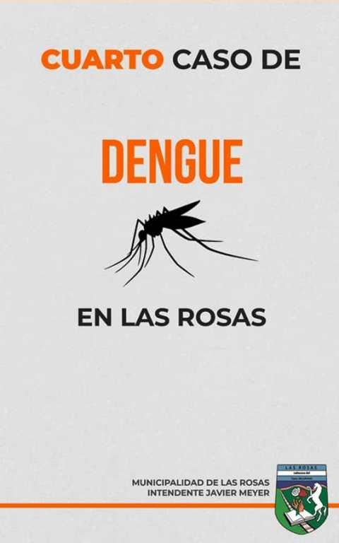 Y ya van…cuatro casos de DENGUE en Las Rosas.