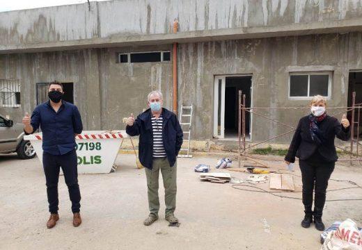 Cañada de Gomez. Clerici recorrió obras en el Hospital San Jose.