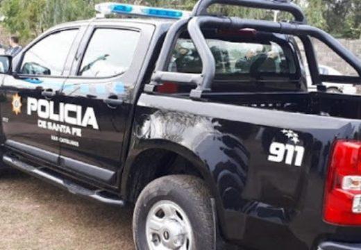 Detuvieron a dos armstronenses con sustancias similares a la cocaína y marihuana.