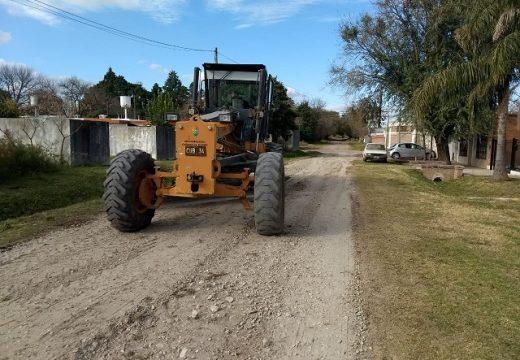 Cañada de Gómez. Municipio realiza trabajos de mejorado en zona norte.