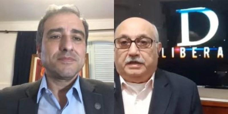 """Deliberando: Hoy, diputado provincial Oscar """"Cachi"""" Martínez."""