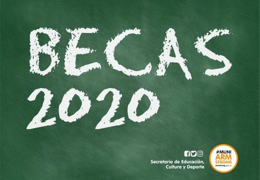Armstrong. Becas Educativas Julio 2020.