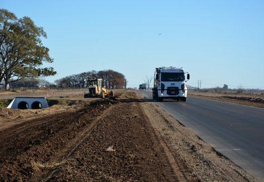 El gobierno nacional recupero la ruta 178 entre Villa Eloísa y Las Parejas.