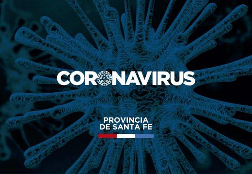 Situación epidemiológica de la provincia de Santa Fe en relación al coronavirus.