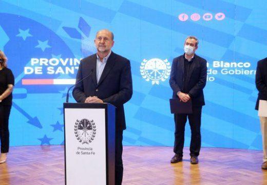 Perotti aseguró que asumió el compromiso de «mejorar el bolsillo de la policía»