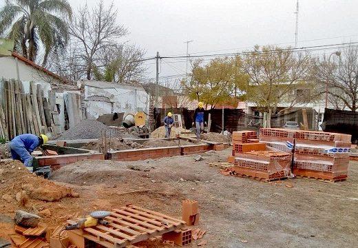 Avanzan las obras para el nuevo edificio de la Escuela Técnica N° 291 de Armstrong.