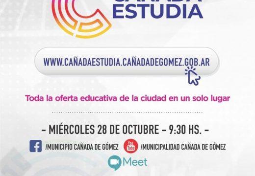 Municipio y Fudeca presentan nueva web con toda la oferta educativa de Cañada.