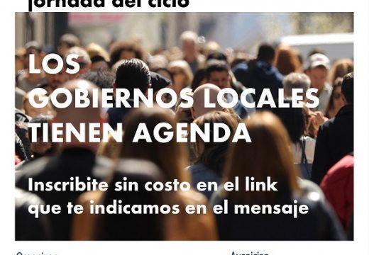 Clerici disertara en videoconferencia nacional sobre gobiernos locales.