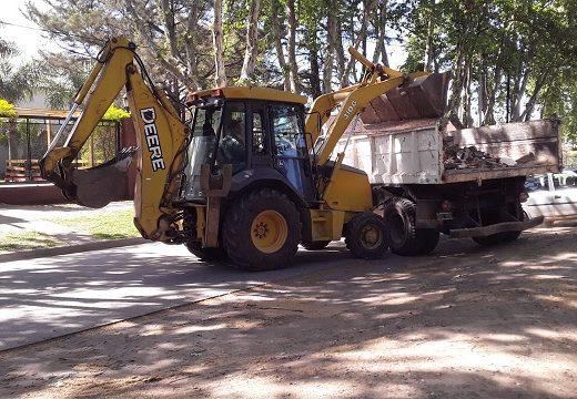 Cañada de Gómez. Municipio continúa tareas de Higiene Urbana.
