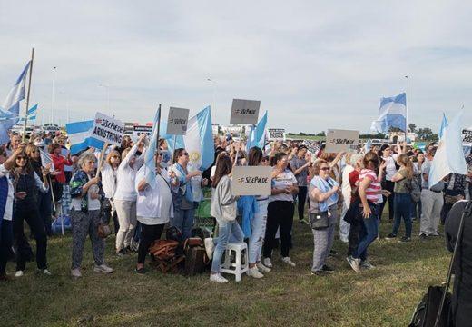 #8N: Nueva marcha contra el Gobierno nacional con rebote en el sur de Santa Fe.