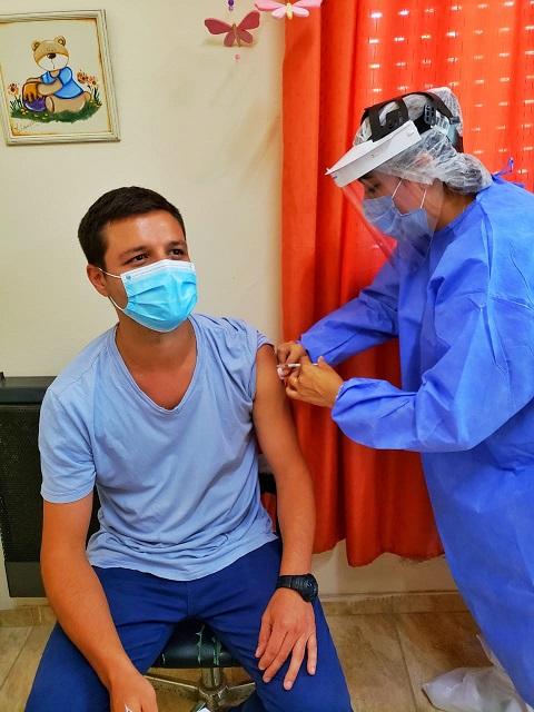 Cañada de Gómez. Comenzó en el hospital San José la vacunación contra el coronavirus.