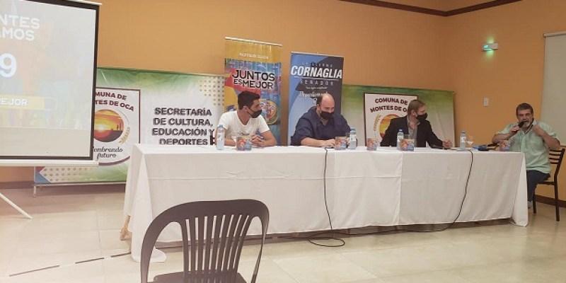 """Se presento en Montes de Oca el disco """"Juntos es Mejor""""."""
