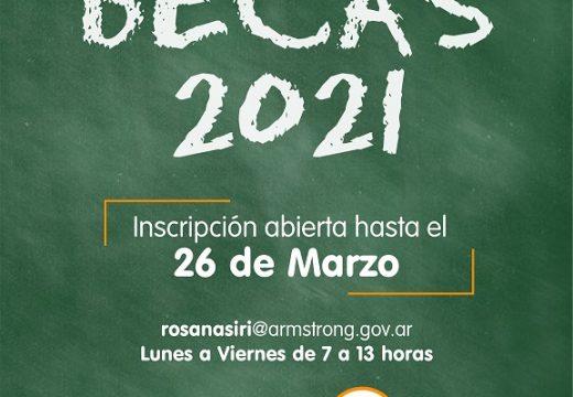 Solicitud de Becas Educativas 2021