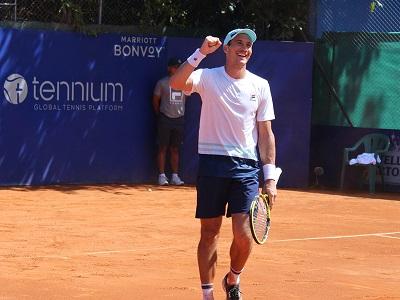 Bagnis ganó su invitación al Argentina Open 2021.