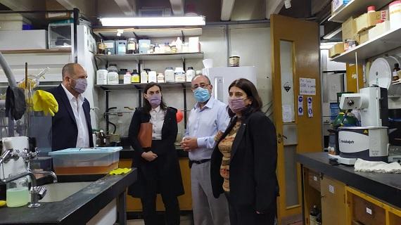 La provincia acompañó a autoridades nacionales de Conicet a recorrer el Centro Científico Tecnológico de Rosario.