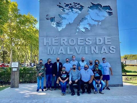 Cañada de Gómez. Municipio y ex-combatientes conmemoraron el 39° aniversario de la gesta de Malvinas.